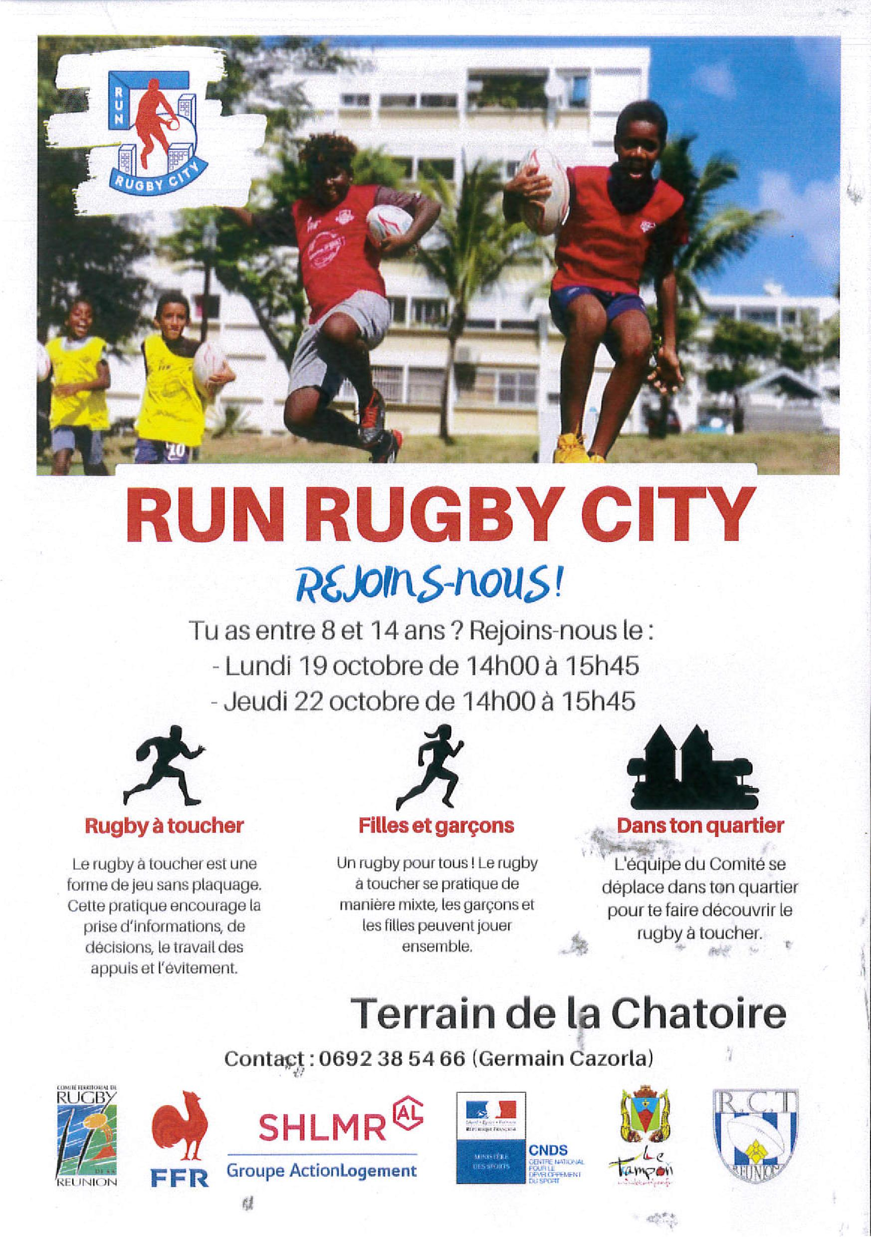 RUN RUGBY CITY CHATOIRE